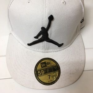 Michael Jordan new era white hat 7
